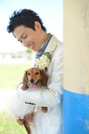 わんこと一緒に結婚式 (2月28日)