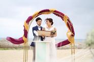 クリスタルに包まれた結婚式。 (5月 9日)